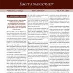 Jurisnews – Droit administratif