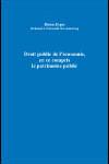Droit public de l'économie, en ce compris le patrimoine public