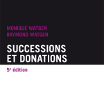 Successions et donations